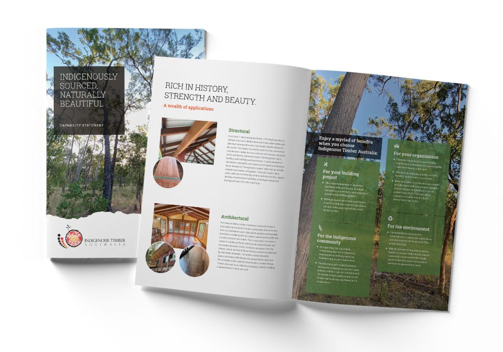 Indigenous Timber Capability Statement